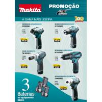 PROMOÇÃO MAKITA Folheto 10,8V
