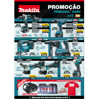 PROMOÇÃO MAKITA Folheto Primavera/Verão