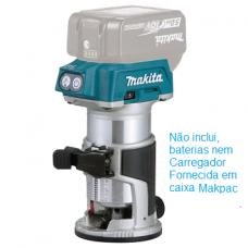 Fresadora Makita 18v Litio DRT50ZJX2
