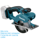 Cortadora Metal 18v Litio Makita DCS550Z