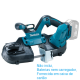 Serra Fita Metal 18v Litio Makita DPB181Z