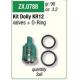 Kit ZX.0788 Valvulas 6x3 T/Kranzle